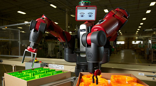 Baxter Manufacturing Roboter
