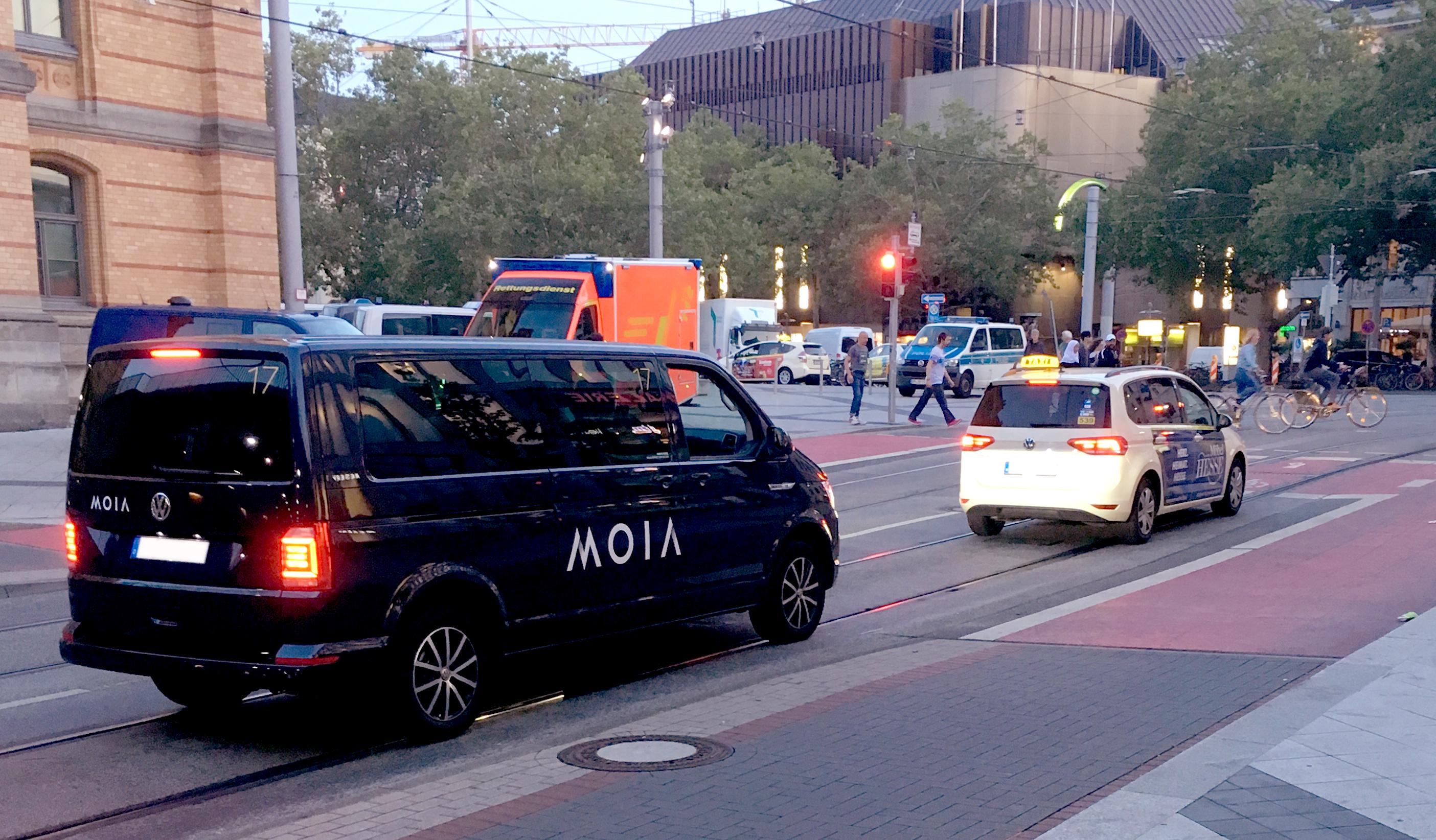 MOIA Fahrzeug