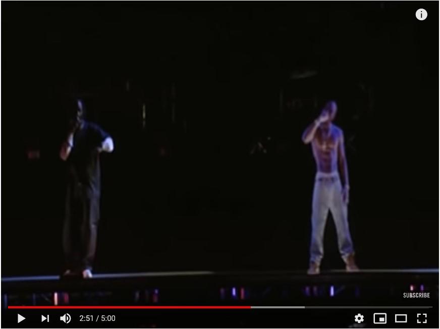 Tupac Shakur Hologramm