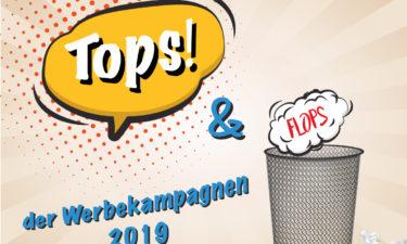 Werbekampagnen Tops und Flops – Ein Jahresrückblick