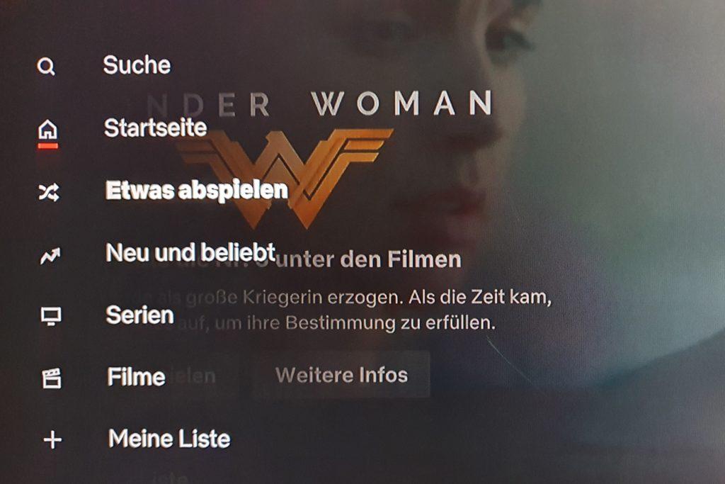 """Neue Testfunktion """"Etwas abspielen"""" von Netflix auf Smart TV`s"""