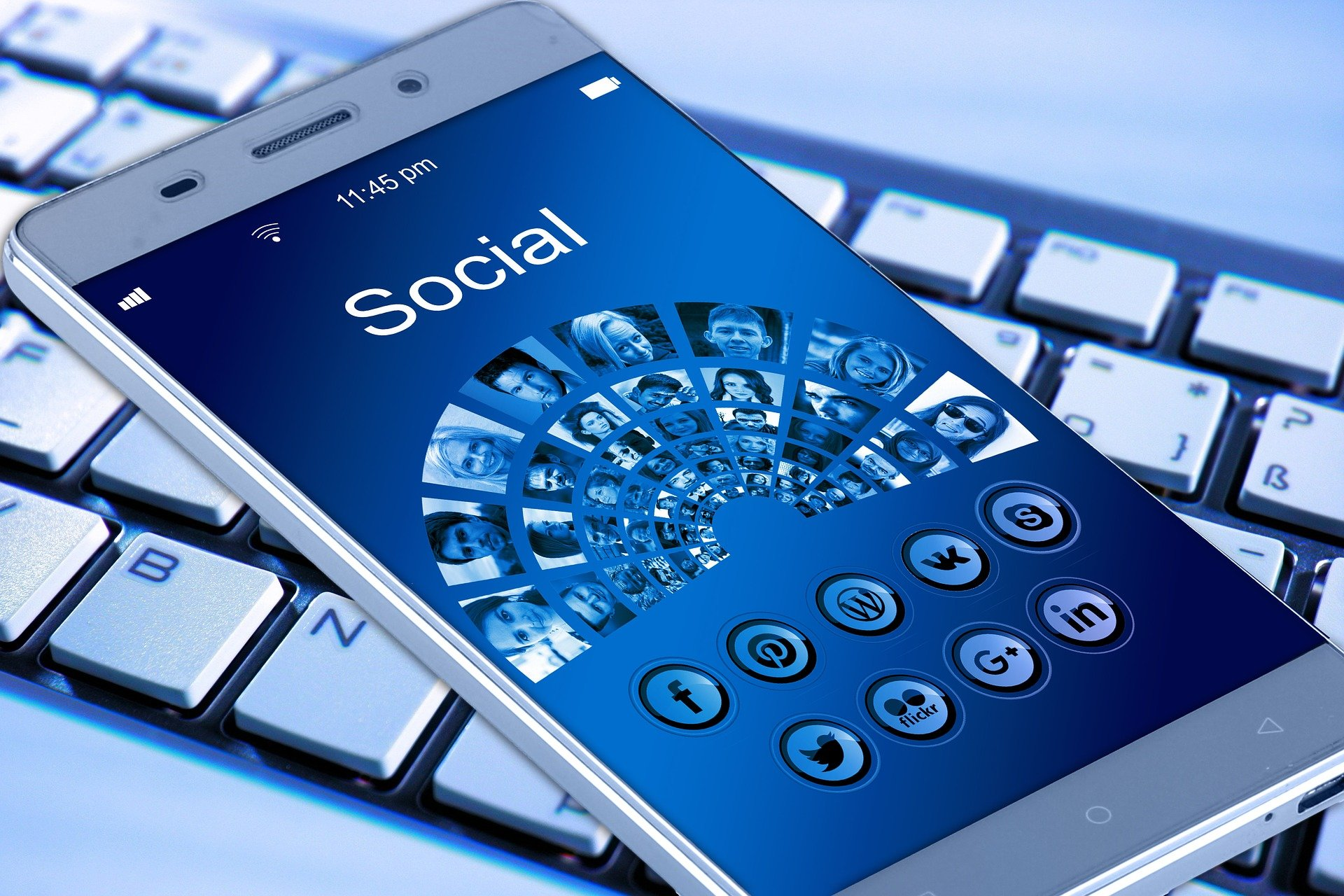 Alternative soziale Medien