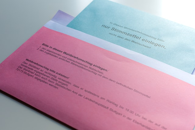 Stimmabgabe per Brief: Die Wahlen 2021 verlaufen anders als geplant.