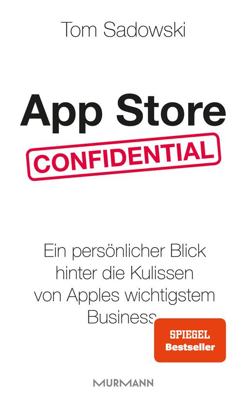 Cover zur Buchempfehlung App Store confidential