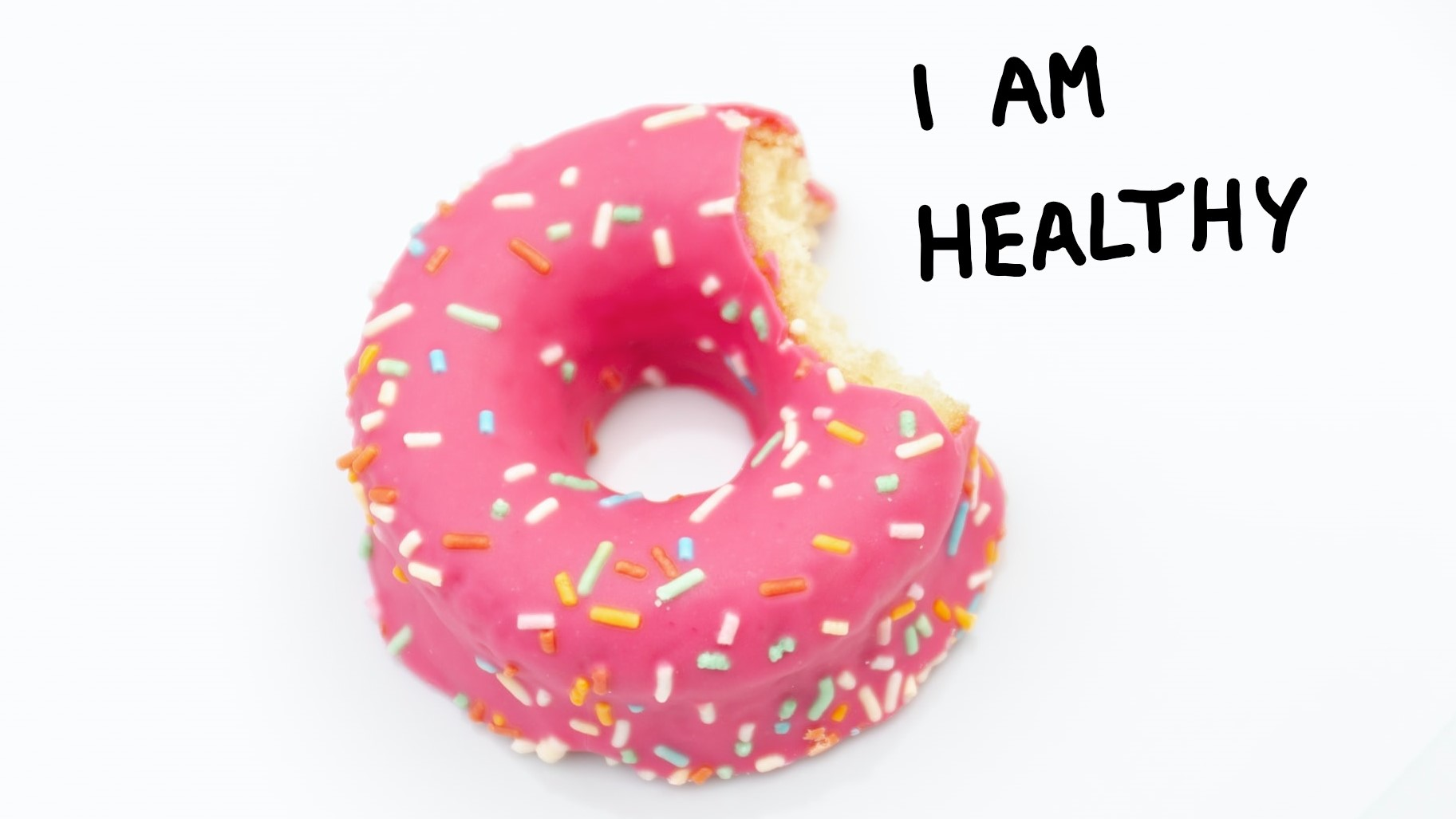 Donut mit Health Claim