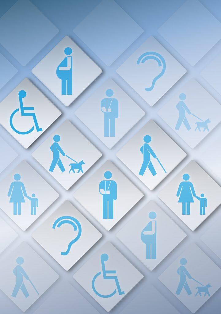 Figuren mit Behinderungen für mehr Barrierefreiheit
